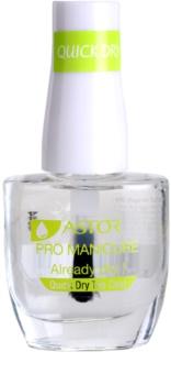 Astor Pro Manicure top coat ad asciugatura rapida per le unghie