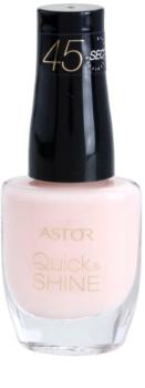 Astor Quick & Shine smalto per unghie e asciugatura rapida