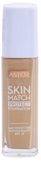 Astor Skin Match Protect зволожуючий тональний крем SPF 18