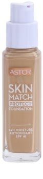 Astor Skin Match Protect hidratáló make-up SPF 18