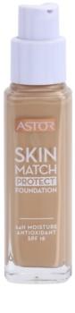 Astor Skin Match Protect Hydraterende Make-up  SPF 18