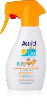 Astrid Sun Kids сонцезахисне молочко у формі спрею для дітей SPF 30