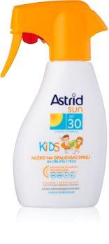 Astrid Sun Kids παιδικό αντηλιακό γαλάκτωμα  σε σπρέι SPF 30