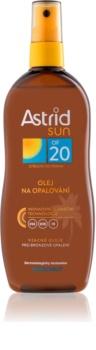 Astrid Sun олійка-спрей для засмаги SPF 20