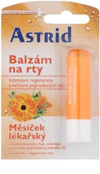 Astrid Lip Care bálsamo labial regenerador com calêndula medicinal