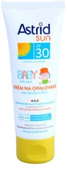 Astrid Sun Baby Protetor solar em creme para crianças SPF 30