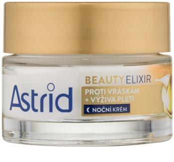 Astrid Beauty Elixir crema nutriente notte antirughe
