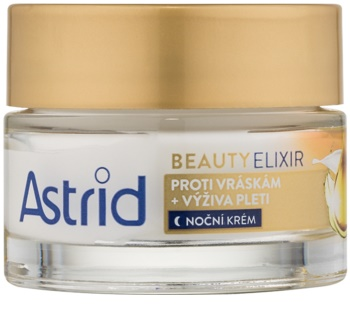 Astrid Beauty Elixir crème de nuit nourrissante anti-rides