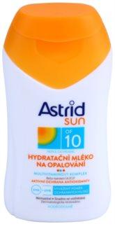 Astrid Sun зволожуюче молочко для засмаги SPF 10