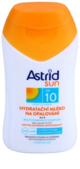 Astrid Sun ενυδατικό αντηλιακό γαλάκτωμα SPF 10