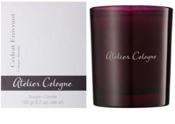 Atelier Cologne Cedrat Enivrant świeczka zapachowa  190 g