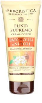 Athena's l'Erboristica Elixir Supreme parfümiertes Bodycreme mit dem Duft von Patschuli und Neroli