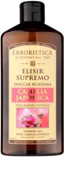 Athena's l'Erboristica Elixir Supreme parfümiertes Duschgel mit dem Duft japanischer Kamelien
