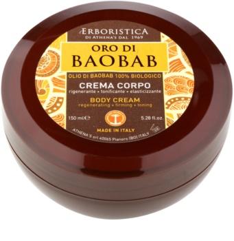 Athena's l'Erboristica Gold Baobab Körpercreme mit regenerierender Wirkung