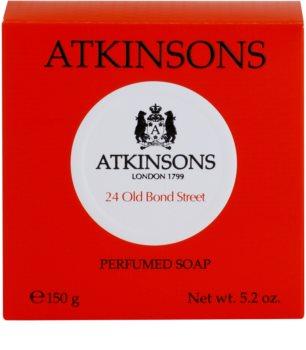 Atkinsons 24 Old Bond Street parfémované mýdlo pro muže 150 g