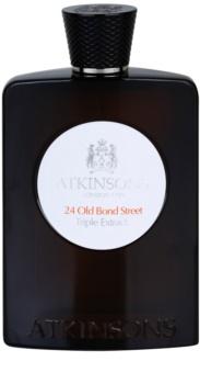 Atkinsons 24 Old Bond Street Triple Extract eau de cologne pour homme 100 ml