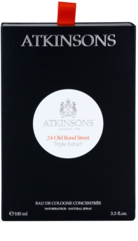 Atkinsons 24 Old Bond Street Triple Extract Κολώνια για άνδρες 100 μλ