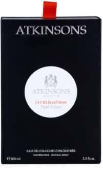 Atkinsons 24 Old Bond Street Triple Extract kölnivíz férfiaknak 100 ml