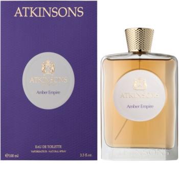 Atkinsons Amber Empire eau de toilette unissexo