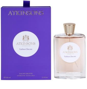 Atkinsons Fashion Decree eau de toilette nőknek 100 ml