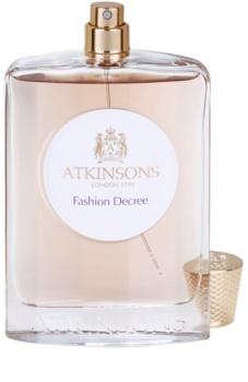 Atkinsons Fashion Decree Eau de Toilette für Damen 100 ml