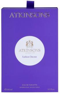 Atkinsons Fashion Decree Eau de Toillete για γυναίκες 100 μλ