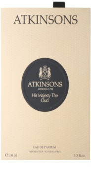 Atkinsons His Majesty Oud Eau de Parfum for Men 100 ml