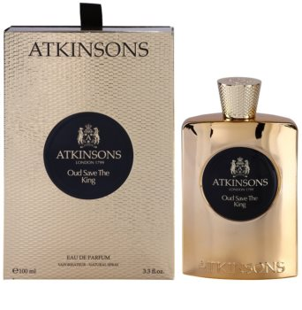 Atkinsons Oud Save The King Eau de Parfum für Herren 100 ml