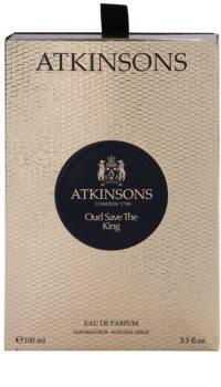 Atkinsons Oud Save The King Eau de Parfum voor Mannen 100 ml