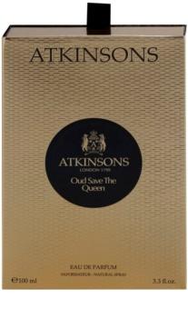 Atkinsons Oud Save The Queen eau de parfum pour femme 100 ml