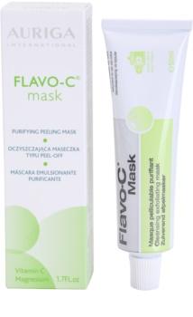 Auriga Flavo-C очищаюча пілінгова маска для шкіри обличчя