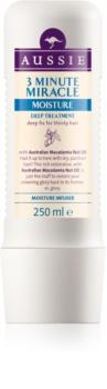 Aussie Miracle Moist masque 3 minutes pour cheveux secs