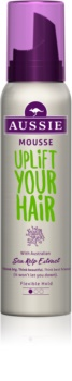 Aussie Aussome Volume Styling Mousse with Volume Effect