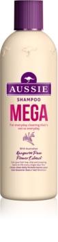 Aussie Mega šampón pre každodenné umývanie vlasov