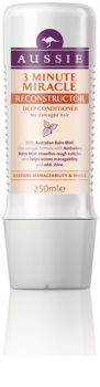 Aussie Repair Miracle Diepe 3-Minuten Conditioner voor Beschadigd Haar