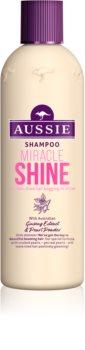 Aussie Miracle Shine shampoing pour cheveux ternes et fatigués