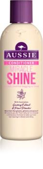 Aussie Miracle Shine acondicionador para cabello cansado y sin brillo