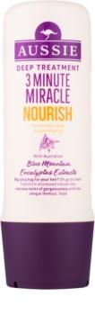 Aussie 3 Minute Miracle Nourish après-shampoing nourrissant en profondeur