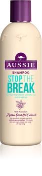 Aussie Stop The Break Shampoo To Treat Hair Brittleness