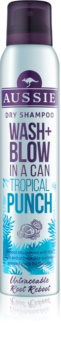 Aussie Wash+ Blow Tropical Punch Droog Shampoo