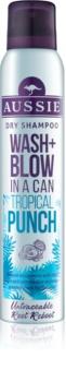 Aussie Wash+ Blow Tropical Punch suchy szampon