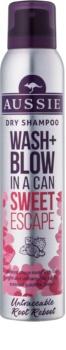 Aussie Wash+ Blow Sweet Escape shampoo secco