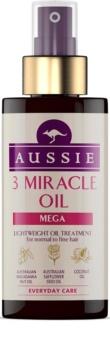 Aussie Mega aceite para cabello normal y fino