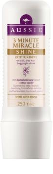 Aussie Miracle Shine tříminutová maska pro matné a unavené vlasy