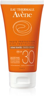 Avène Sun Sensitive προστατευτική χρωματισμένη  κρέμα προσώπου SPF 30