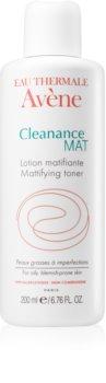Avène Cleanance Mat lozione tonica detergente per pelli grasse e problematiche