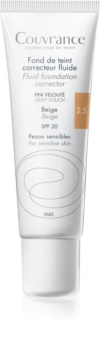 Avène Couvrance flüssiges deckendes Make-up SPF 20
