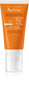 Avène Sun Sensitive creme de proteção SPF 50+