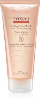 Avène TriXera Nutrition gel nettoyant détoxifiant visage et corps