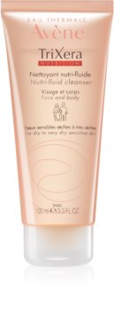 Avène TriXera Nutrition gel nettoyant visage et corps